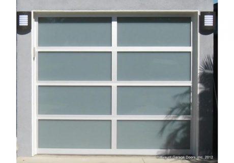 Model 8800 garage doors