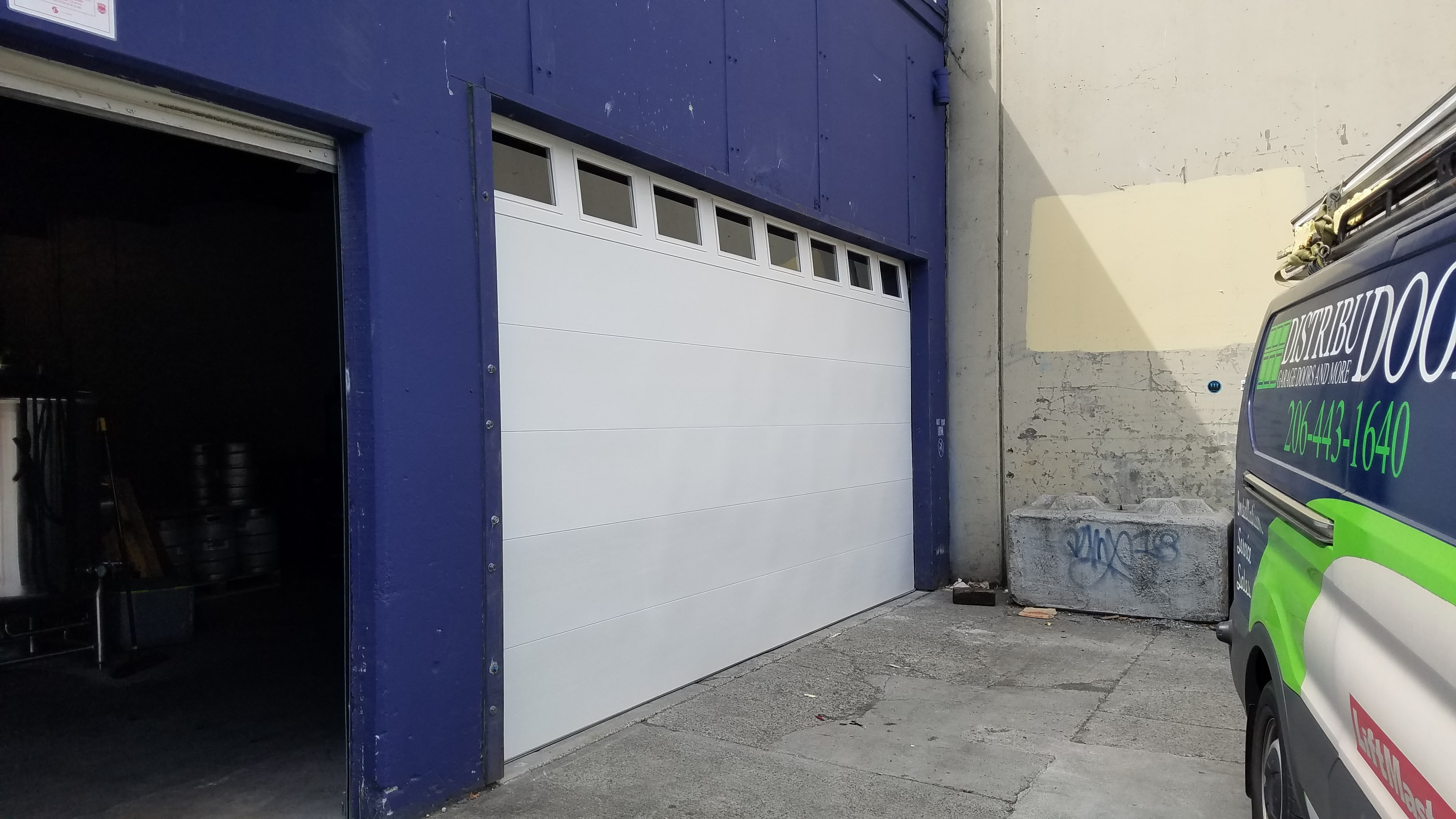 commercial service garage door