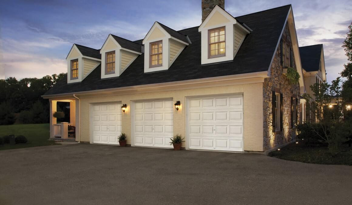 Classic™ Steel garage doors