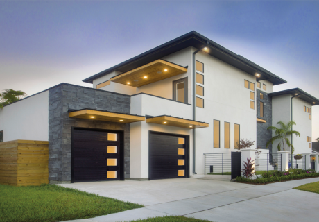 Modern Steel™ garage doors