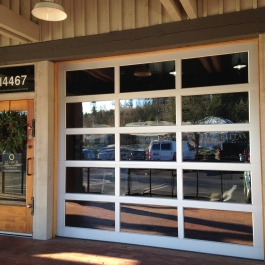 all glass zcommerical clear frame clear glass NWD