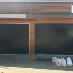 MODERN TECH FLUSH BLACK DOOR Des Moines, WA